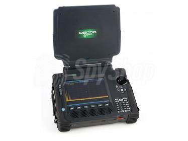 Spektrální analyzátor OSCOR Green - detekování rádiových signálů