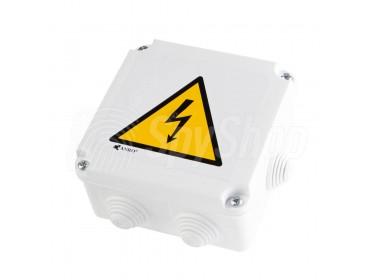 Monitoring firmy, staveniště, skladů a chodby - WiFi kamera v elektrické skříňce DVR-P1