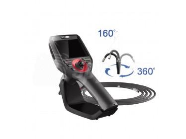 Technický inspekční endoskop Coantec C40 s pohyblivou sondou 360° odolnou na kapaliny, mazadla, oleje