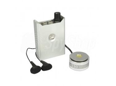 Stetoskopický odposlech přes zdi s bezjehlovým mikrofonem citlivý na lidský hlas - FL-330