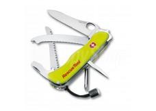 Záchranářský nůž Victorinox Rescue Tool, 111mm s čepelí na řezání pásů a skla (0.8623.MWN)