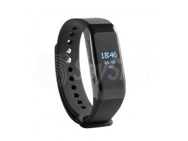 Diktafon v hodinkách / smartwatch MVR-405 pro diskrétní způsob na získání důkazu