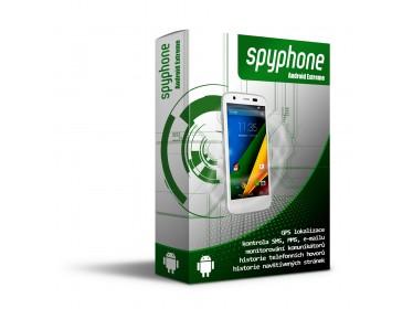 Odposlech mobilu - kopie snímků a SMS zpráv - SpyPhone Android Extreme Lite