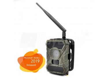 Fotopast na zloděje s GSM modulem a neviditelným IR osvětlovačem - s880g