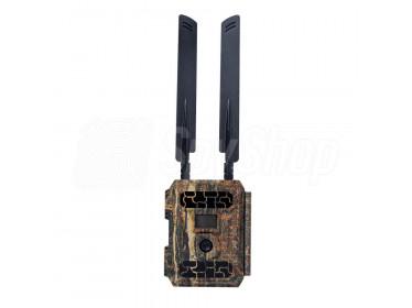 Fotopast GSM 4G s GPS geolokaci, ovládáním na dálku a neviditelným nočním přísvitem – model B3