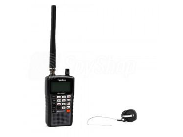 Bezdrátový odposlech UBS-01: miniaturní rádiová štěnice 2KL a přijímač Uniden