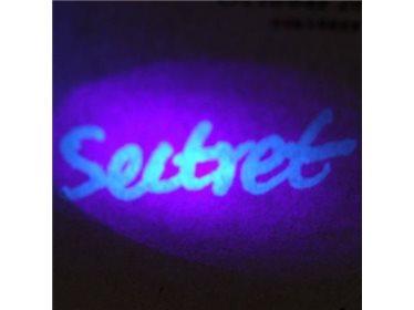 Souprava pro tvorbu neviditelných poznámek - ultrafialový fix s UV lampou
