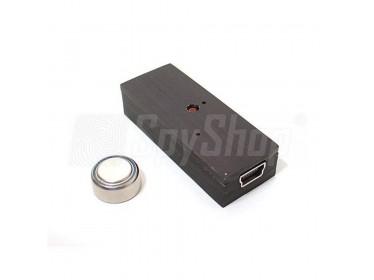 Miniaturní digitální diktafon pro detektiva - TAR-22 chráněný heslem