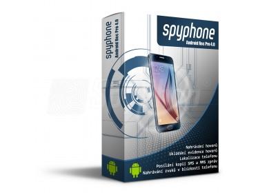 Odposlech mobilního telefonu SpyPhone Android Rec Pro - komplexní program na odposlech a sledování mobilu