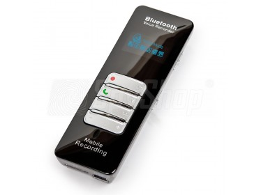 Digitální diktafon DVR-188 s Bluetooth® - nahrávání telefonních hovorů