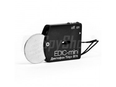 Odposlouchávací minidiktafon s digitálním podpisem Edic mini Tiny+ B76-150HQ