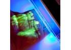 UV lampa pro kriminalistické prášky a ověření pravosti bankovek