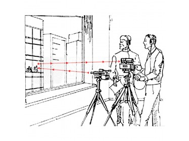 Laserový odposlech / směrový mikrofon Laser Spectra Laser M + pro odposlouchávání přes sklo a stěny