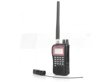 Dálkový odposlech UBS-02: rádiová štěnice 3KL a přijímač Uniden