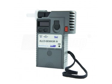Policejní alkohol tester AlkoSensor IV CM s atestem