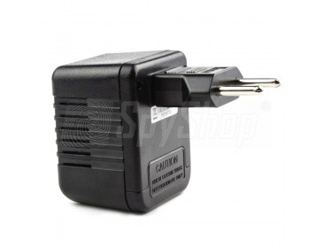 Špionážní kamera skrytá v napájecím adaptéru PV-AC10FHD