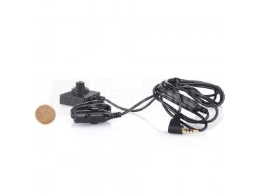 Špionážní kamera v knoflíku / šroubku CCD BU18