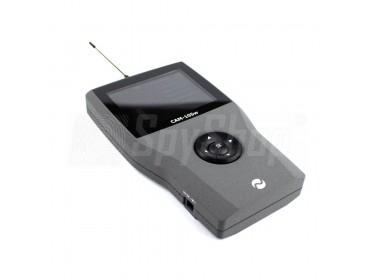CAM-105W - detektor odposlechu a mobilních telefonů 2G / 3G / 4G a Wifi i Bluetooth