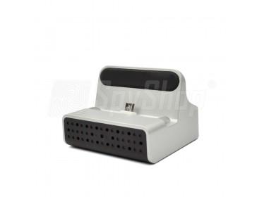 WiFi IP mikrokamera v dokovací stanici pro iPhone - PV-CHG20i