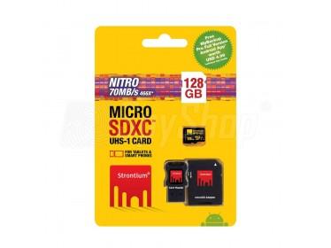 Paměťová microSDHC karta 128GB Strontium