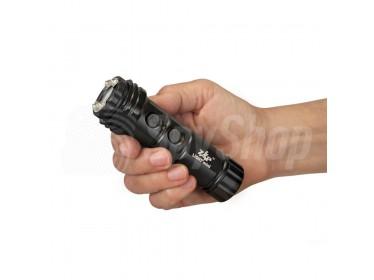 Svítilna s paralyzérem k odvrácení útoku - ZAP Light Mini 800 000 V