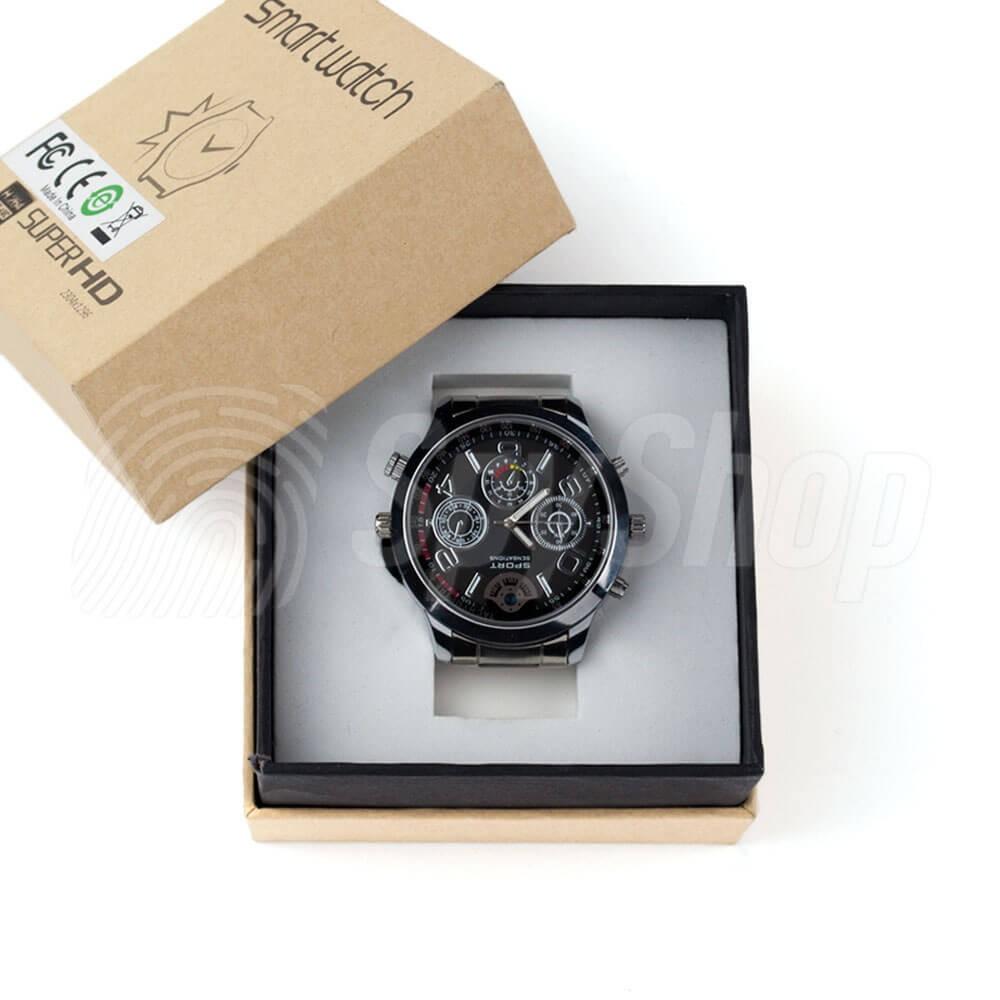 Špionské hodinky se skrytou kamerou pro muže CAM-2K 9ddb6013dc6