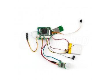 Miniaturní kamera pro montáž svépomocí s čidlem pohybu PIR - HD-08