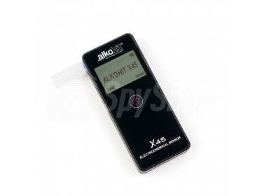 Alkohit X45 – alkohol tester s elektrochemickým čidlem