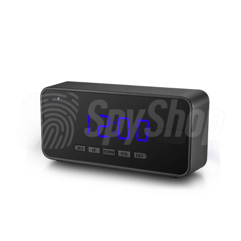 Skrytá kamera v budíku DV-55C s detekcí pohybu a nočním viděním d645b583721